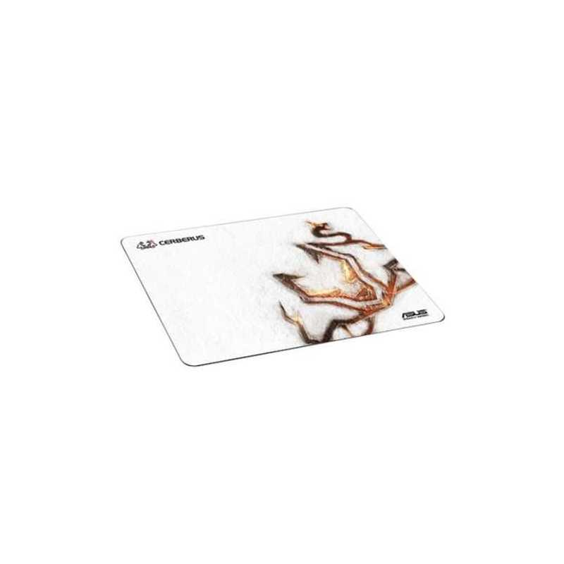 Asus CERBERUS ARCTIC Gaming Mouse Pad, Heavy Weave for Controlled Movement, Fray-Resistant.400 x 300 mm