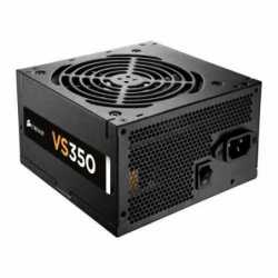 Corsair 350W Builder Series VS350 PSU, Sleeve Bearing Fan, Fully Wired, 80+ White