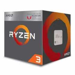 AMD Ryzen 3 3200G CPU with Wraith Stealth Cooler, Quad Core, AM4, 3.6GHz (4.0 Turbo), 65W, 12nm, 3rd Gen, VEGA 8 Graphics