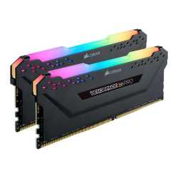Corsair Vengeance RGB Pro 32GB Kit (2 x 16GB), DDR4, 3200MHz (PC4-25600), CL16, XMP 2.0, Ryzen Optimised, DIMM Memory