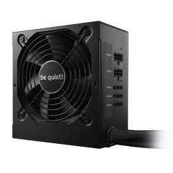 Be Quiet! 600W System Power 9 PSU, Semi-Modular, 80+ Bronze, Dual 12V, Cont. Power