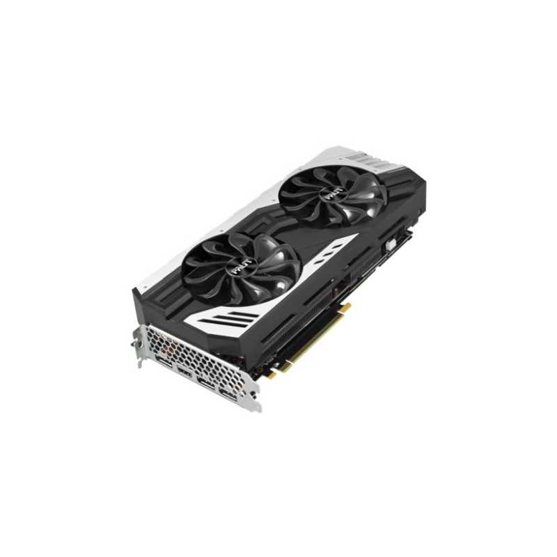 Palit RTX2070 SUPER JetStream, 8GB DDR6, 2 HDMI, 3 DP, 1815MHz Clock,  NVlink, 0-dB Tech, RGB Lighting