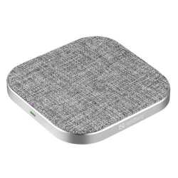 Sandberg Wireless Charging Pad, 15W, Aluminium, USB-C, Qi Compatible, 5 Year Warranty