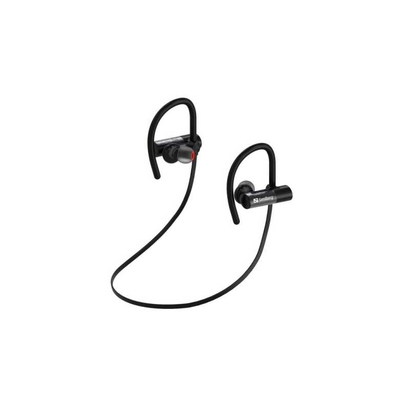 Sandberg Waterproof Bluetooth Earphones, 10mm Driver, Microphone, IPX7, 8 Hours Playback, 5 Year Warranty