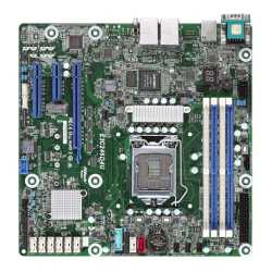 Asrock Rack E3C246D4U Server Board, Intel C246, 1151, Micro ATX, VGA, Dual GB LAN, IPMI LAN, M.2, Serial Port