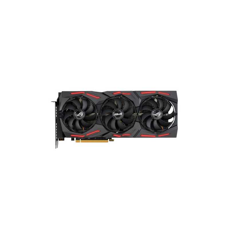Asus RX5700 8G, 8GB DDR6, PCIe4, HDMI, 3 DP, 0dB, RDNA, 1750MHz Clock, NVlink, RGB Lighting