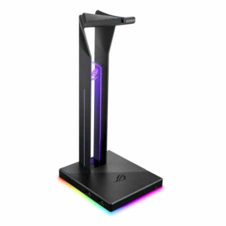 Asus ROG THRONE QI RGB External Soundcard & Headset Stand, Dual USB 3.1, Built-in ESS DAC and AMP, RGB Lighting