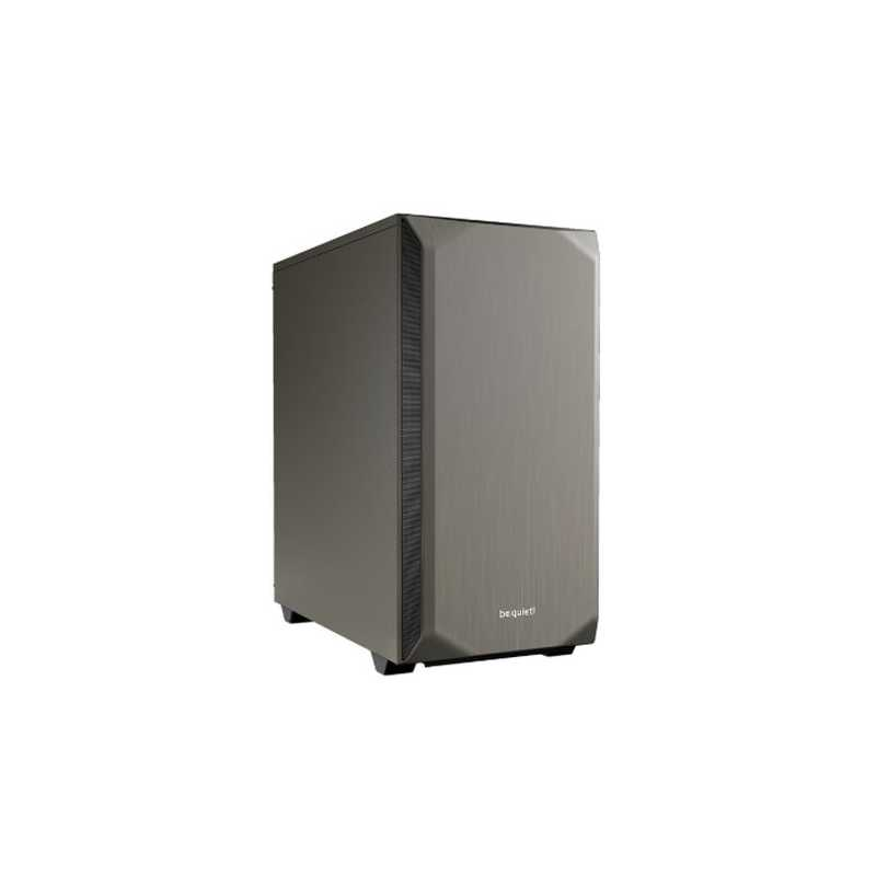 Be Quiet! Pure Base 500 Gaming Case, ATX, No PSU, 2 x Pure Wings 2 Fans, PSU Shroud, Metallic Grey