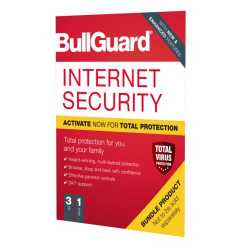 Bullguard Internet Security 2020 Soft Box, 3 User - Single, Windows Only, 1 Year