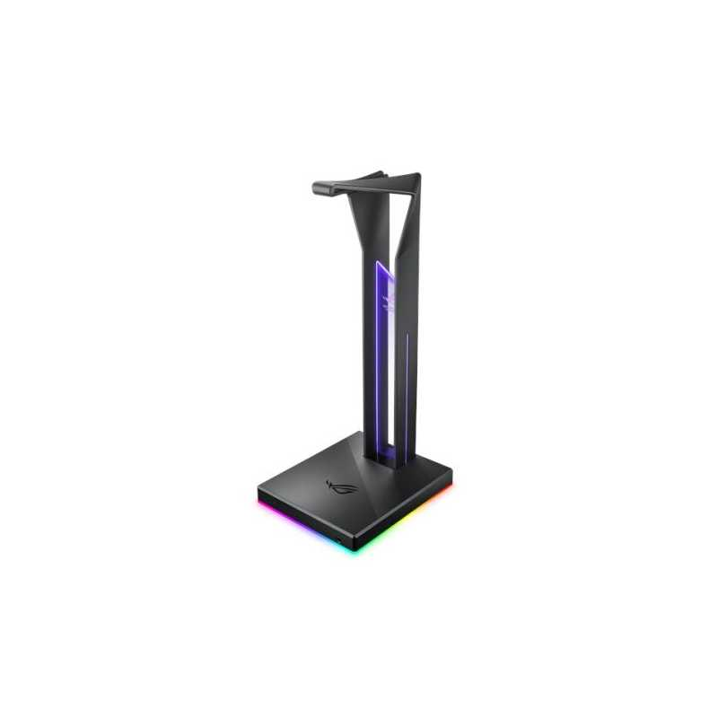 Asus ROG THRONE RGB External Soundcard & Headset Stand, Dual USB 3.1, Built-in ESS DAC and AMP, RGB Lighting