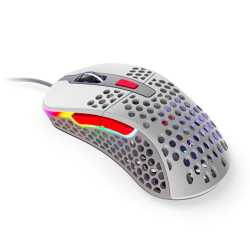 Xtrfy M4 Wired Optical Gaming Mouse, USB, 16000 DPI, Omron Switches, 6 Buttons, Adjustable RGB, Retro