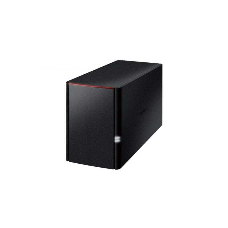 Buffalo 4TB LinkStation 220 NAS Drive, (2 x 2TB WD Red), RAID 0, 1, JBOD, GB LAN, NovaBACKUP, Built-in BitTorrent