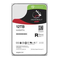 """Seagate 3.5"""", 12TB, SATA3, IronWolf Pro NAS Hard Drive, 7200RPM, 256MB Cache, 2 Yr Data Recovery Service"""