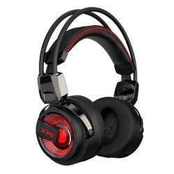 ADATA XPG PRECOG Dual Driver Pro-Gaming Headset, Hi-Res Audio, Ergonomic, Noise Cancelling Mic, Rotatable Cups
