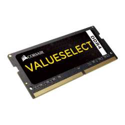 Corsair Value Select, 4GB, DDR4, 2133MHz (PC4-17000), CL15, SODIMM Memory