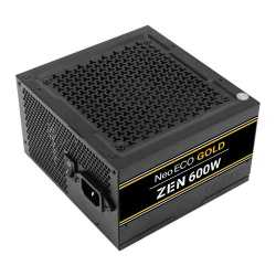 Antec 600W NeoECO Gold ZEN PSU, Fully Wired, LLC Design, 80+ Gold, Cont. Power