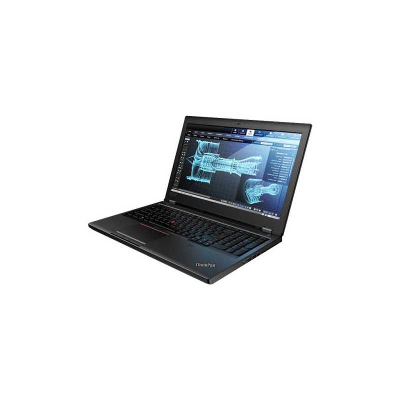 "Lenovo ThinkBook P52 Laptop, 15.6"" FHD IPS, i7-8750H, 8GB, 256GB SSD, FP Reader, No Optical, Quadro P1000 GFX, Windows 10 Pro"