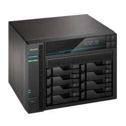 ASUSTOR AS6508T Lockerstor 8-Bay NAS Enclosure (No Drives), Quad Core CPU, 8GB DDR4, USB 3.2, 2 x 10G LAN, 2 x 2.5G LAN,  2 x M.