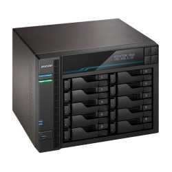 ASUSTOR AS6510T Lockerstor 10-Bay NAS Enclosure (No Drives), Quad Core CPU, 8GB DDR4, USB 3.2, 2 x 10G LAN, 2 x 2.5G LAN,  2 x M
