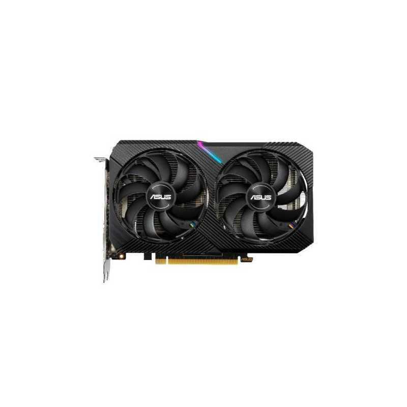 Asus RTX2070 DUAL MINI OC, 8GB DDR6, DVI, HDMI, DP, 1680MHz Clock, Overclocked