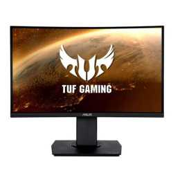 "Asus 23.6"" TUF Curved Gaming Monitor (VG24VQ), 1920 x 1080, 1ms, 2 HDMI, DP, 144Hz, VESA"