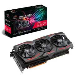 Asus ROG STRIX RX5600 XT OC, 6GB DDR6, PCIe4, HDMI, 3 DP, 1770MHz Clock, RGB Lighting