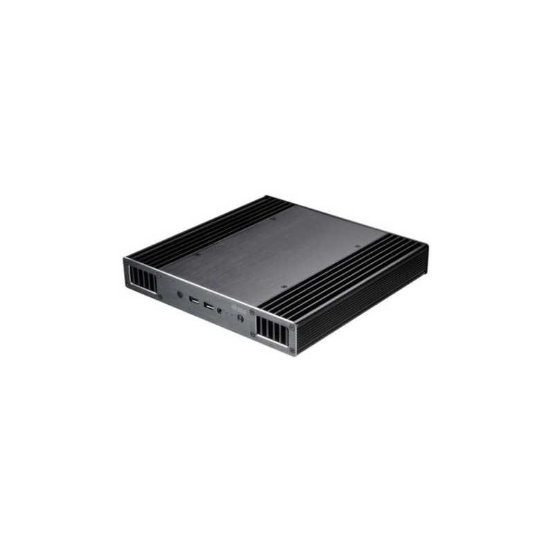 Akasa Plato X8 Low Profile NUC Case for 8th Gen Intel NUC Boards, 38.5mm High, Fanless, VESA Mountable