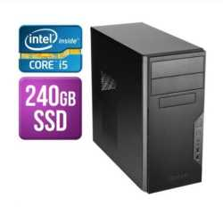 Spire Tower PC, Antec VSK3000B, i5-9400, 8GB, 240GB SSD, Corsair 450W, DVDRW, KB & Mouse, No Operating System