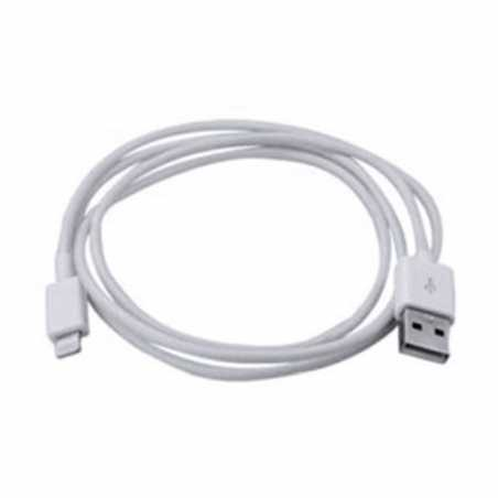 Spire Lightning Cable, Data/Charge, USB 2.0, White, Not Apple Certified