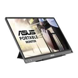 "Asus 15.6"" Portable IPS Monitor (ZenScreen MB16ACE), 1920 x 1080, USB-C, USB-powered, Auto-rotatable, Hybrid Signal, Smart Case"