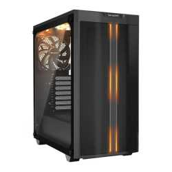Be Quiet! Pure Base 500DX Gaming Case with Glass Window, ATX, No PSU, 3 x Pure Wings 2 Fans, ARGB Front Lighting, USB-C, Black