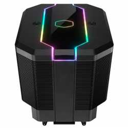 Cooler Master MasterAir MA620M Universal Socket 120mm PWM 2000RPM Addressable RGB LED Fan CPU Cooler with Wired Addressable RGB
