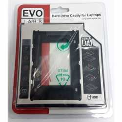 Evo Labs Hard Drive Caddy for 9.5mm Laptop Optical Drive Bay