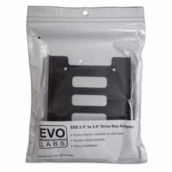 """Evo Labs Single Metal SSD/HDD 2.5"""" to 3.5"""" Drive Bay Adapter"""