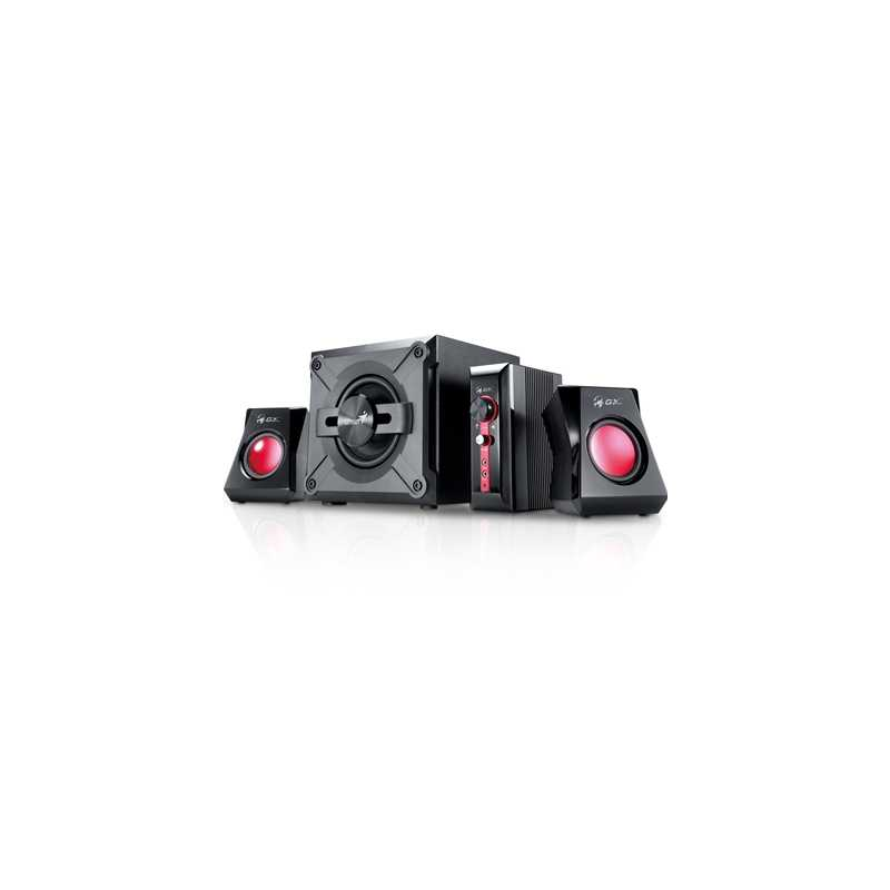 Genius GX Gaming SW-G 2.1 1250 V2 Black & Red Gaming Speaker System