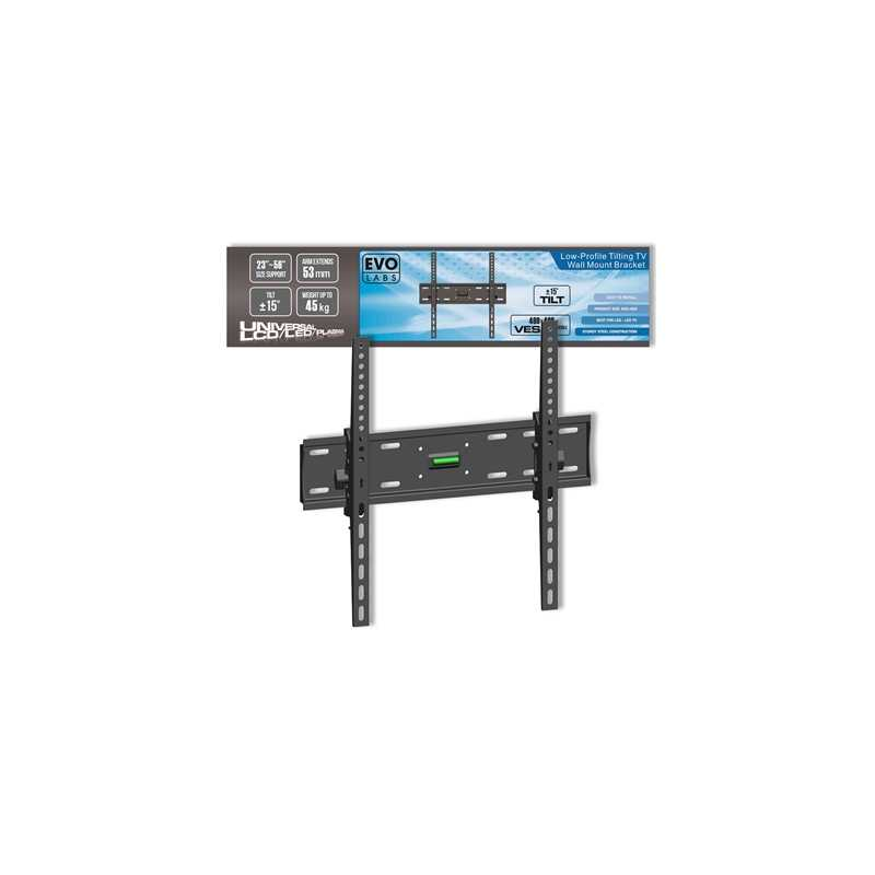 "Evo Labs Low-Profile Tilting TV Wall Mount Bracket (23-56"")"