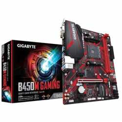 Gigabyte B450M GAMING AMD Socket AM4 Micro ATX DDR4 DVI-D/HDMI/VGA M.2 Motherboard