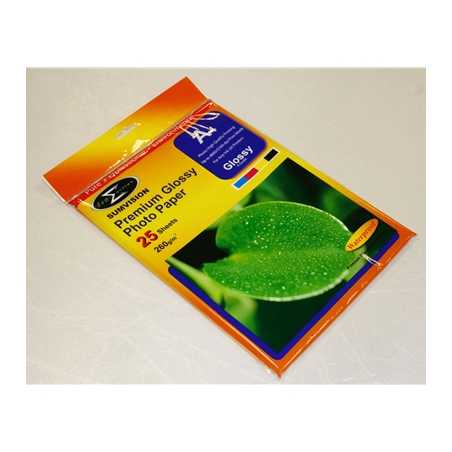 Sumvision A4 260gsm Glossy Photo Paper 25 Pack