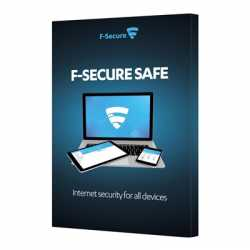 F-Secure Internet Security 1year 3 PCs Full License Retail Pack