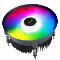 Akasa Vegas Chroma AM AMD Socket 120mm PWM 1800RPM Addressable RGB LED Fan CPU Cooler