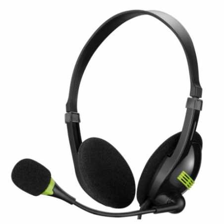 Sandberg Saver USB Headset with Boom Microphone, In-line Controls, 5 Year Warranty