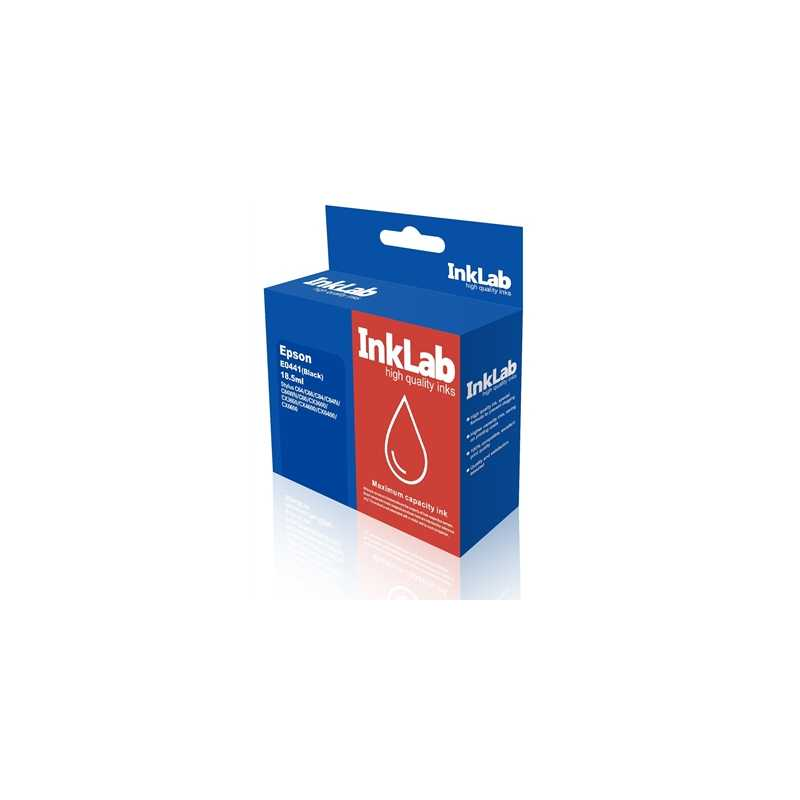 InkLab 441 Epson Compatible Black Replacement Ink