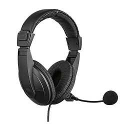 Sandberg Saver USB Headset with Boom Mic, 40mm Drivers,  In-Line Volume Controls, 5 Year Warranty