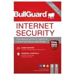 Bullguard Internet Security 2021 1Year/3 Device Multi Device Single Retail Licence English