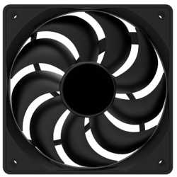 Evo Labs 120mm 1200RPM Black OEM Fan