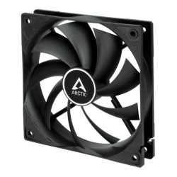 Arctic P12 12cm PWM Case Fan, Black, 9 Blades, Fluid Dynamic, up to 13.5K RPM, 6 Year Warranty
