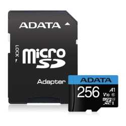 ADATA 256GB Premier Micro SDXC Card with SD Adapter, UHS-I Class 10 with A1 App Performance
