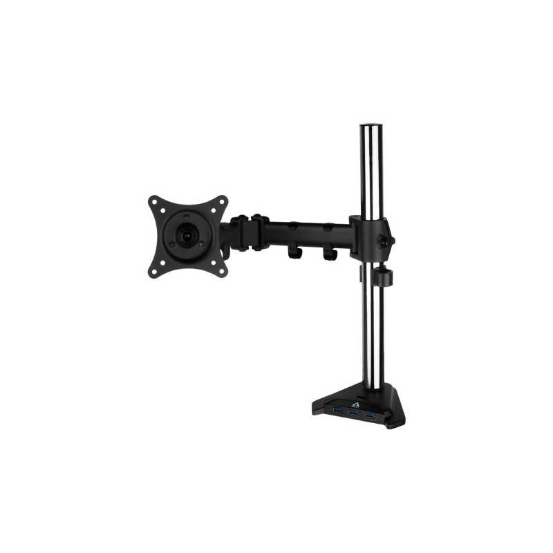 """Arctic Z1 Pro Gen 3 Single Monitor Arm with 4-Port USB 3.0 Hub, up to 43"""" Monitors / 49"""" Ultrawide"""