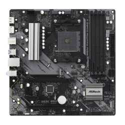 Asrock B550M PHANTOM GAMING 4, AMD B550, AM4, Micro ATX, 4 DDR4, HDMI, DP, XFire, PCIe4, M.2