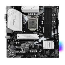 Asrock H470M PRO4, Intel H470, 1200, Micro ATX, 4 DDR4, XFire, VGA, HDMI, DP, RGB Lighting, M.2